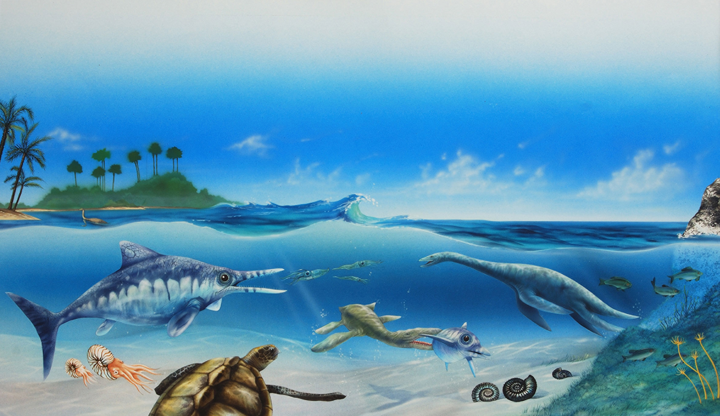 Prehistoric-sea